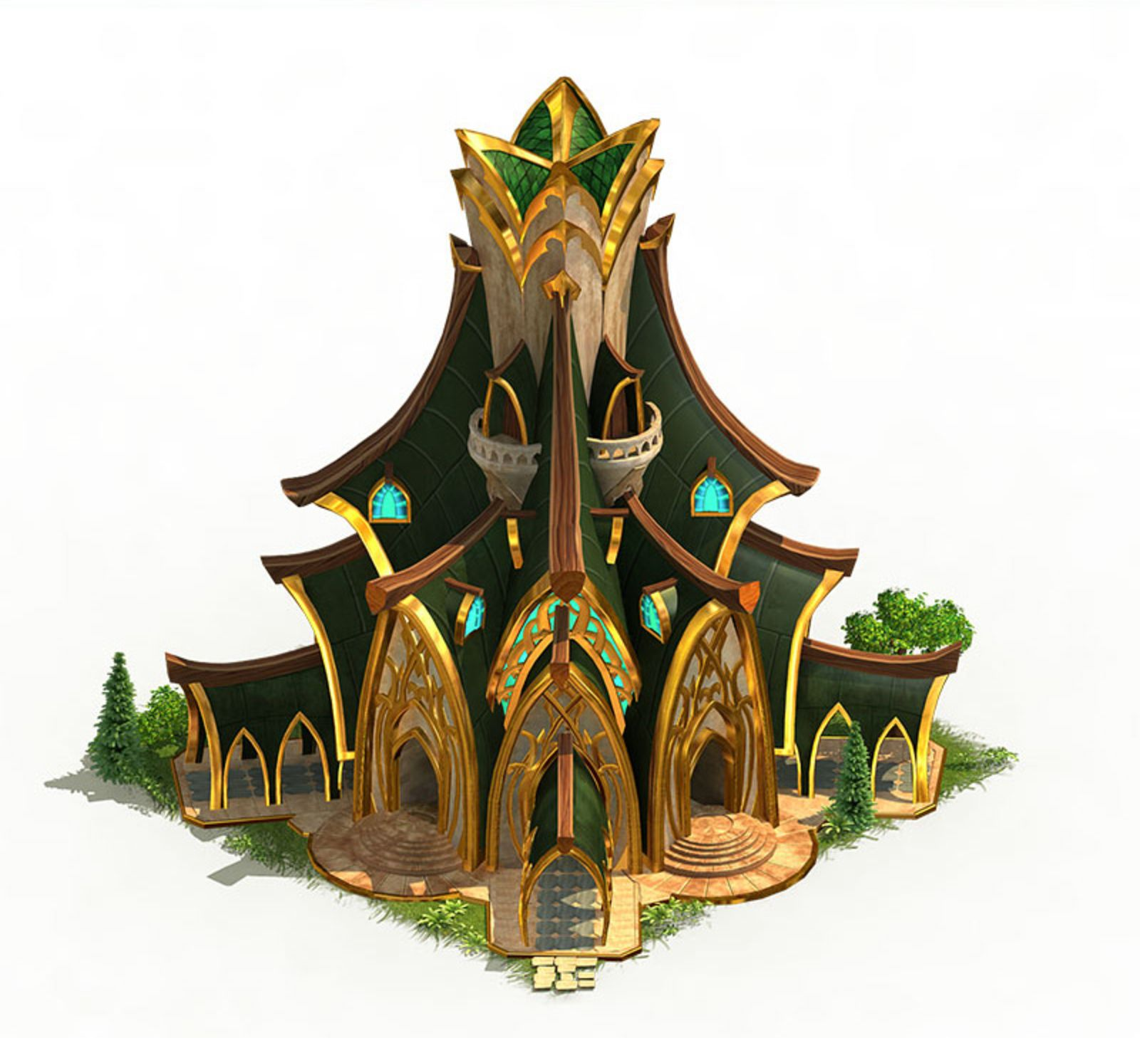 Elvenar - Fantasy City Builder Game with elves and humans