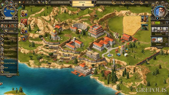Grepolis – Online Strategy Game in ancient Greece  Choose