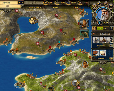 InnoGames Grepolis screenshot