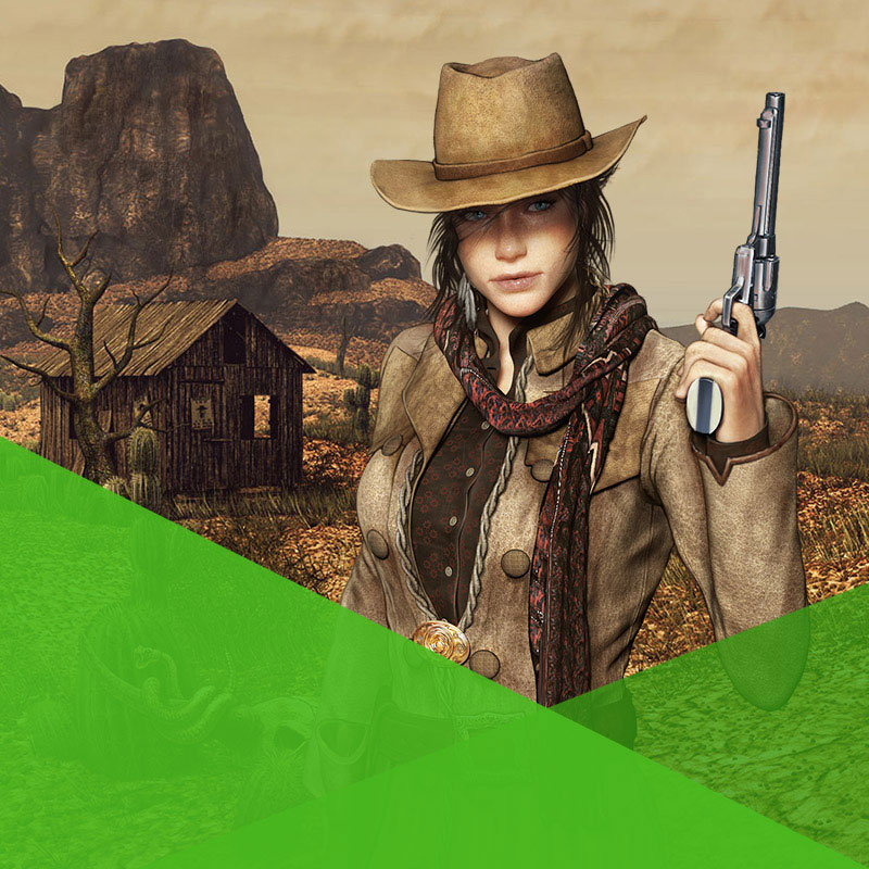 The West - RPG de navegador de cowboy