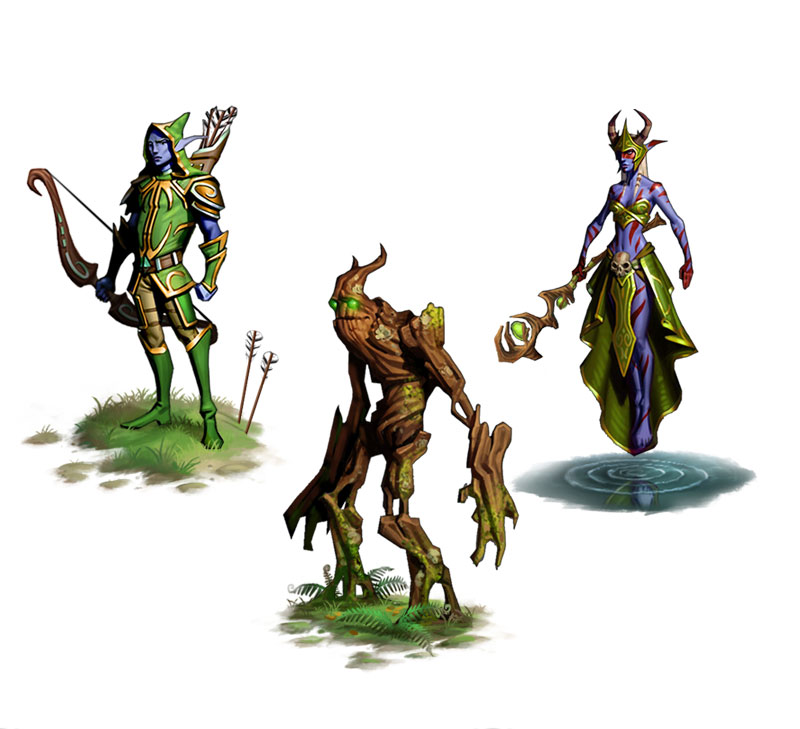 Elvenar figures