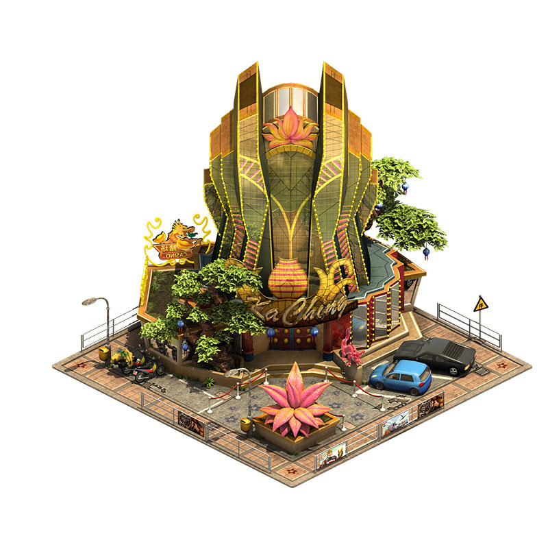 Forge of Empires city Building