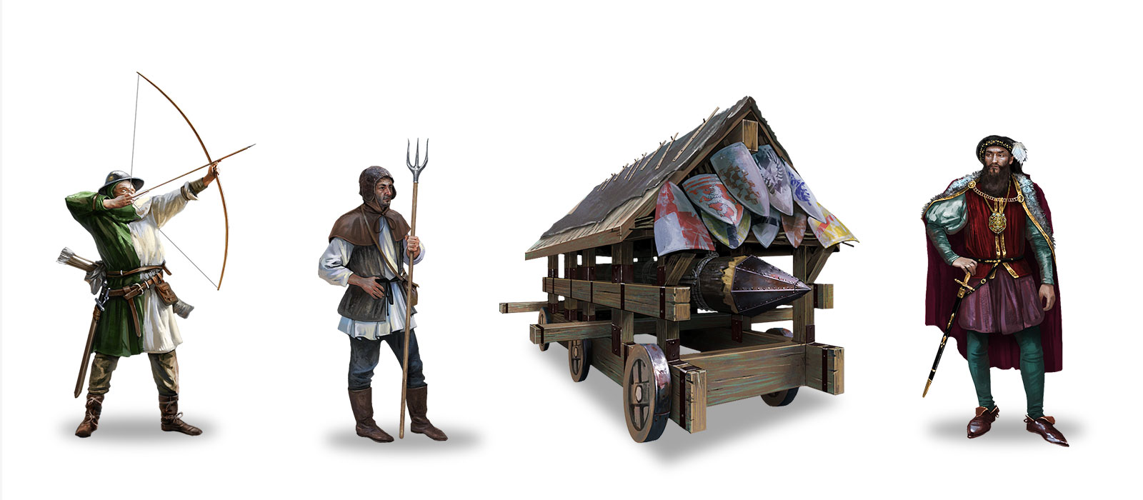 InnoGames Tribal Wars props