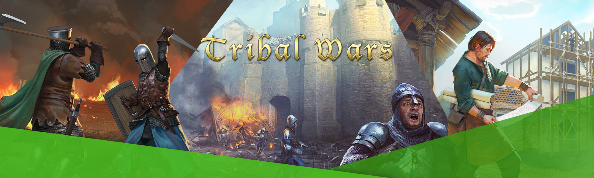 Tribal Wars - Klassieke strategie-MMO